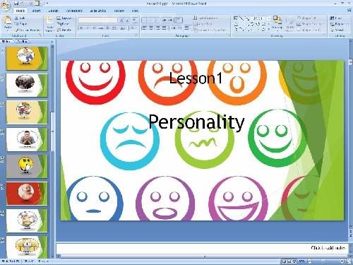 2052040 - پاورپوینت درس اول زبان انگلیسی پایه نهم Talking about Personality